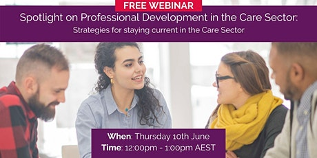 Spotlight on Professional Development in the Care Sector tickets