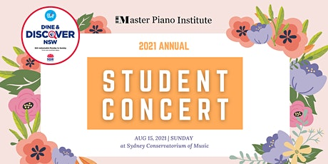 2021 MPI Student Annual Concert_Adult Only @ 4:00 PM tickets
