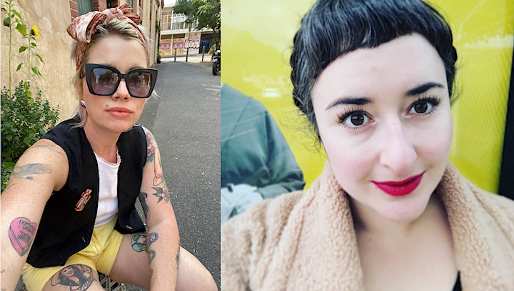 Winter, Wine and Words with Alice Robinson and Clementine Ford image