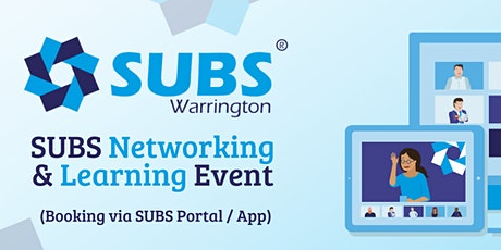 SUBS Warrington Networking & Learning tickets