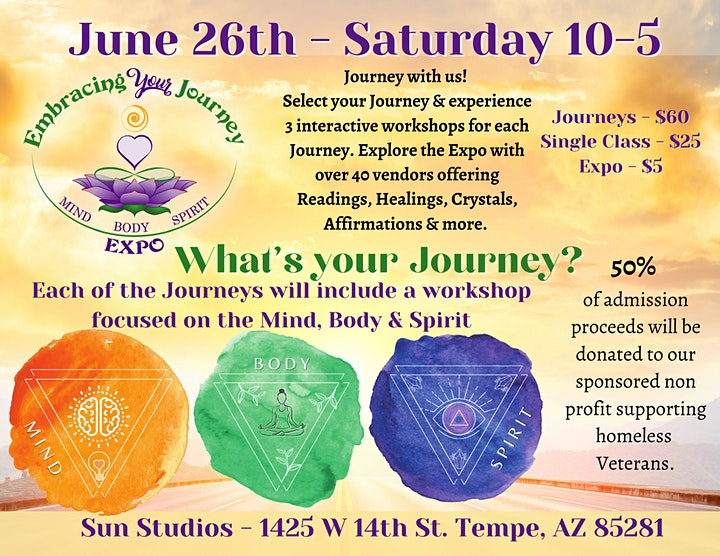 Embracing Your Journey Expo - June 26th 2021 image