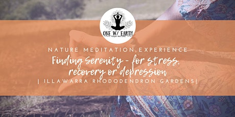 Finding Serenity| Relaxation experiences for recovery, stress or depression tickets