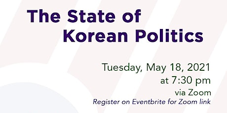 The State of Korean Politics tickets