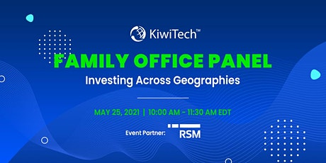 Family Office Panel - International tickets