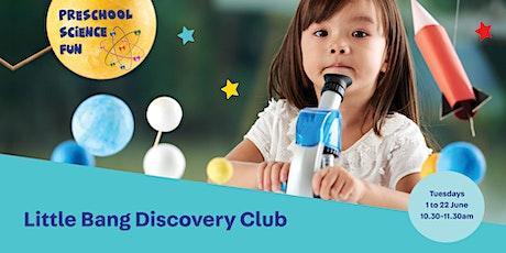 Little Bang Discovery Club - Preschool Science Fun tickets