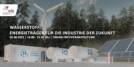 Wasserstoff: Energieträger für die Industrie der Zukunft Tickets