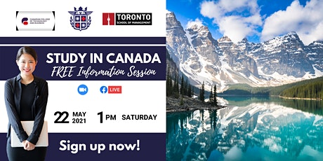 STUDY in CANADA: Free Information Session tickets