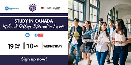 MOHAWK COLLEGE CANADA: FREE INFORMATION SESSION tickets