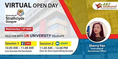 Virtual Open Day of University of Strathclyde biglietti
