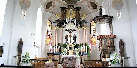 Hl. Messe auf dem Kirchvorplatz am 03.06.2021 Tickets