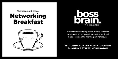 Networking Breakfast tickets