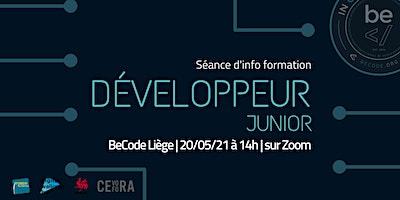 BeCode Liège – Séance info développeur junior