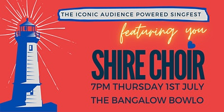 SHIRE CHOIR Bangalow Bowlo 1st July 2021 tickets