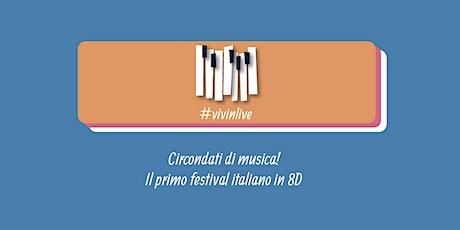 PALMA COSA GUITARIST @ #VIVINLIVE FESTIVAL (replica) biglietti