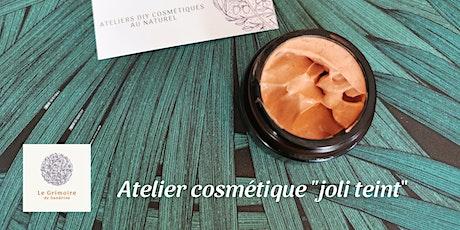 Atelier cosmétique  crème hydratante bonne mine billets