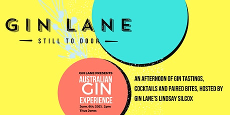 Australian Gin Experience tickets