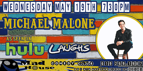 Michael Malone as seen on Comedy Central, Laughs on Fox and more! tickets