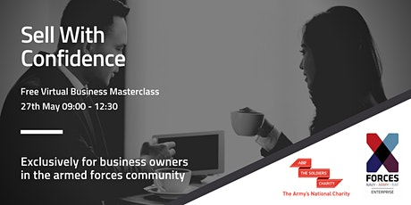 Business Masterclass: Sell with Confidence tickets