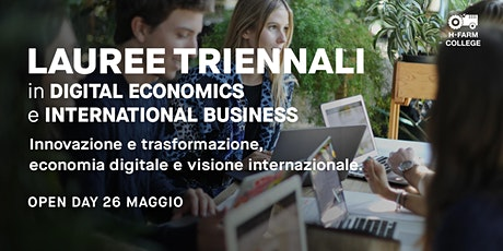 Open Day Digital Economics and Finance + International Business Studies tickets