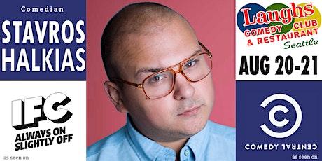 Comedian Stavros  Halkias tickets