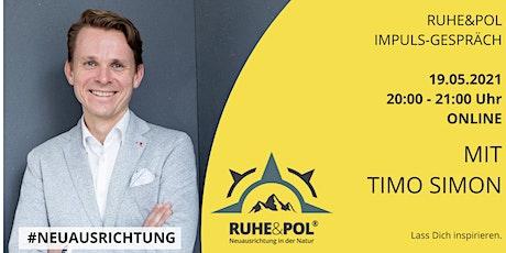 Ruhe&Pol Impuls-Gespräch mit Timo Simon Tickets