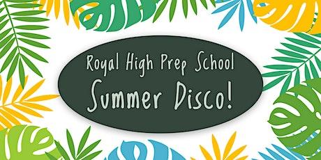 RHS Prep Summer Disco tickets
