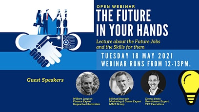 Future in Your Hands, lecture about the Skills for Future jobs tickets