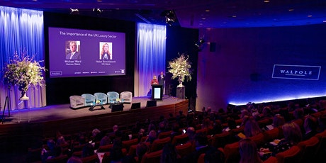 Walpole Future of British Luxury Summit 2021 tickets