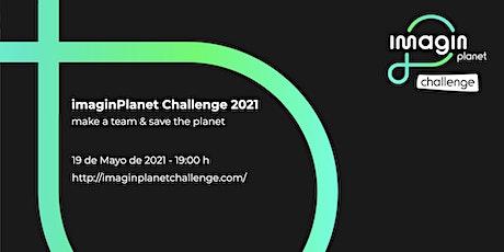 webinar imaginPlanet Challenge en imaginCafé Barcelona - 19 mayo 2021 entradas