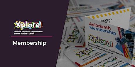 Xplore! Membership tickets