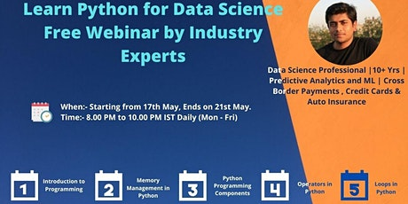 Free Data Science Prep Session by Industry Experts | Learnbay tickets