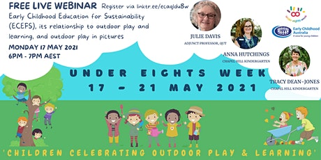 Early Childhood Education for Sustainability (ECEFS) and outdoor play tickets