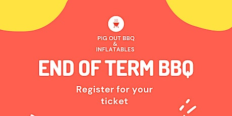 End of Term BBQ tickets