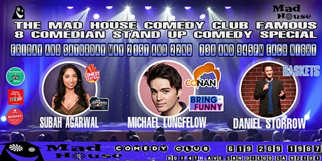 The Mad House Showcase starring Subah Agarwal as seen on Comedy Central! tickets