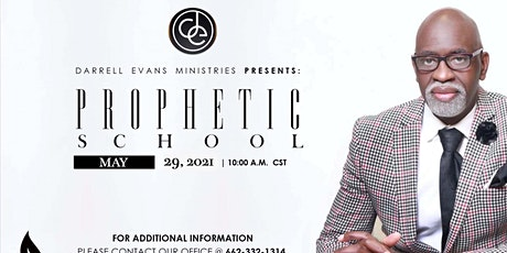 Darrell Evans Ministries Present Prophetic School Session 5 tickets