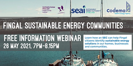 Fingal Sustainable Energy Communities Information Session tickets