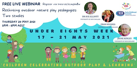 Rethinking outdoor nature play pedagogies: two studies tickets