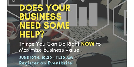 Things You Can Do Right NOW to Improve the Value of Your Business: Work tickets