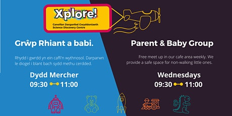 Parents and babies @ Xplore! tickets