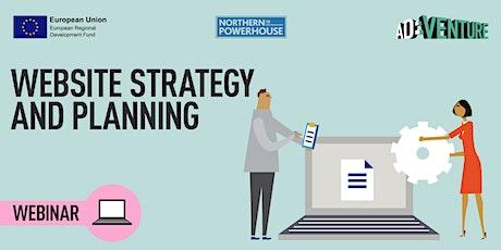 ADVENTURE Workshop -Website Strategy & Planning tickets