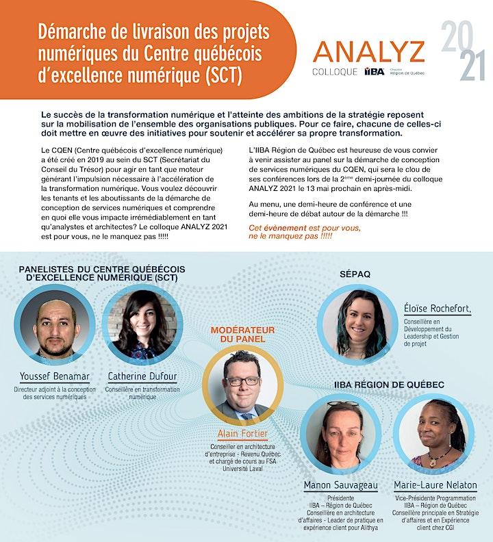 Image de ANALYZ - Colloque 2021 de l'IIBA Région de Québec
