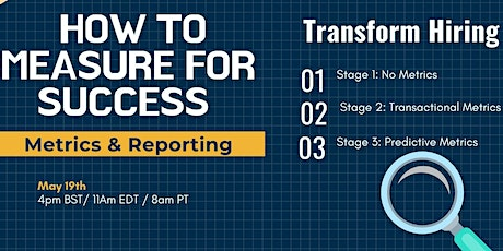 Hiring Metrics & Reporting: How to Measure for Success tickets