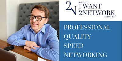Speed 60: UK Wide I Online Speed Networking I Business Professionals