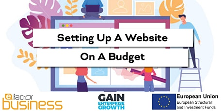 GAIN Setting Up A Website On A Budget Workshop tickets
