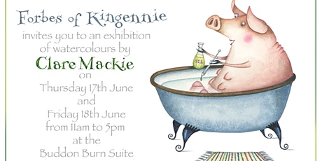 Clare Mackie Art Exhibition of Watercolours tickets