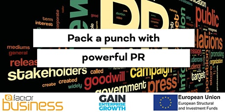 GAIN Pack a punch with powerful PR Workshop tickets