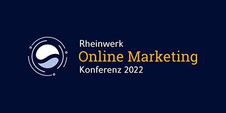 Rheinwerk Online Marketing Konferenz Tickets