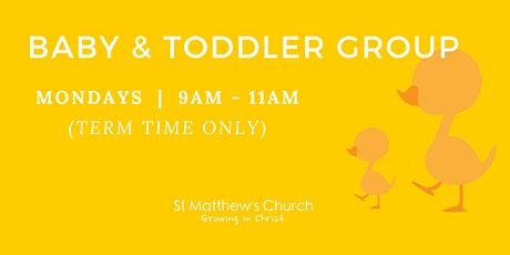 Baby & Toddler Group tickets