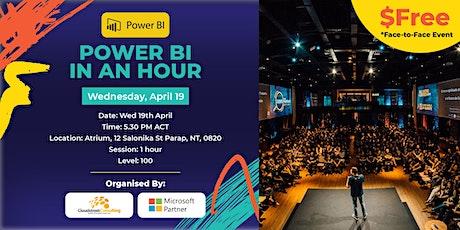 Darwin Power BI in an hour 19th May tickets