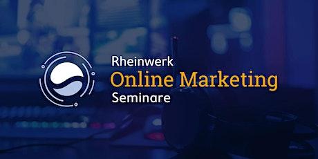 Rheinwerk Online Marketing Seminare Tickets